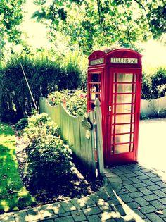 British phone booth | Spring Lake, NJ