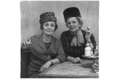 A selection of two hundred photographs by Diane Arbus on view at Martin Gropius Bau