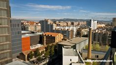 The neighborhood of Poblenou has gone through an intense transformation, with the renovation of old factories into new office buildings, lofts and galleries Barcelona Travel Guide, Old Factory, The Neighbourhood, Artists, Building, The Neighborhood, Buildings, Construction, Artist