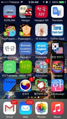 Top 18 Phone Apps for Your South Korea Trip - Pretraveller Korean Learning Apps, Best Language Learning Apps, Learning Languages Tips, Foreign Languages, Korean English, Learn Hangul, Korean Writing, Korean Alphabet, South Korea Seoul