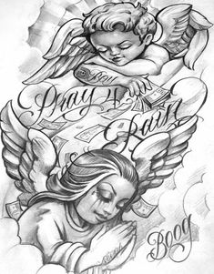 At getdrawings com free for personal use Boog Tattoo, Chicano Tattoos Sleeve, Body Art Tattoos, Tattoo Design Drawings, Tattoo Sketches, Drawing Sketches, Angel Tattoo Designs, Tattoo Sleeve Designs, Arte Lowrider
