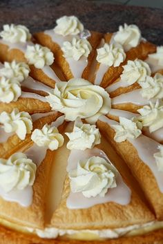 Sweet Pie, Breakfast Lunch Dinner, Eclairs, Piece Of Cakes, Ice Cream Recipes, High Tea, No Bake Desserts, Yummy Cakes, Cake Cookies