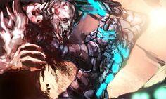 dead space fan art | Dead Space 2 DLC Severed Dead Space 2 fan art