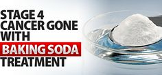 Stage 4 Cancer Gone With Sodium Bicarbonate (Baking Soda) | Health Digezt