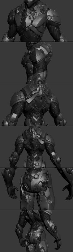 there will be armor Robot Concept Art, Armor Concept, Suit Of Armor, Body Armor, Taktischer Helm, Armadura Sci Fi, Logo Super Heros, Character Concept, Character Art
