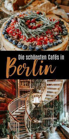 Die schönsten Cafés in Berlin. Bei der nächsten Städtereise einfach mal ausprobieren. #berlin #what2eatBerlin #Kaffeehäuser