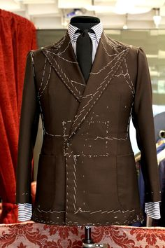 Anatomy of a man's jacket  ZsaZsa Bellagio – Like No Others
