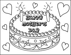 Find This Pin And More On Free Coloring Pages 243 Mothers Day For