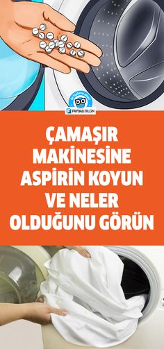 Coloque aspirina na máquina de lavar e veja o que está acontecendo! House Cleaning Tips, Cleaning Hacks, Turkish Kitchen, Survival Equipment, Natural Cleaners, Simple Life Hacks, Meaningful Words, Blog Tips, Things To Know