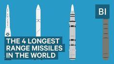 The 4 longest range missiles in the world