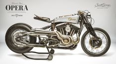 """Harley-Davidson Bobber """"Opera"""" by South Garage Motor Co"""