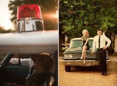 engagement...would love to do this shoot with a police officer groom...or bride!
