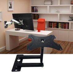 "Tv Mount 14""-42"" Articulating Adjustable Swivel Tilt LCD LED TV Wall Mount Stand Bracket TV Holder Monitor Suporte soporte 50kg TV pared"