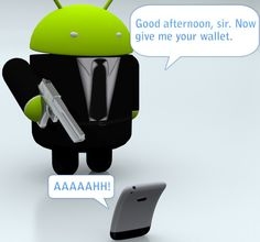 Androids are badass!!! Apples not so much :'((