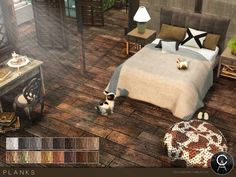 The Sims Resource: Planks by Pralinesims • Sims 4 Downloads