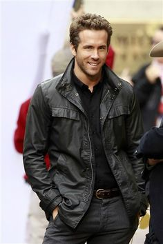 RYAN REYNOLDS ~ Like a fine wine.....he just gets better and better with age.  Looks and laughs, what's not to love?!?