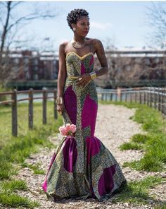 African Ankara Gown Styles For Tall And Slim Ladies, ankara styles for tall ladies, new ankara designs for slim and tall ladies, african style ankara designs for tall and slim ladies African Prom Dresses, African Wedding Dress, African Dresses For Women, African Attire, African Wear, African Women, African Style, African Inspired Fashion, African Print Fashion