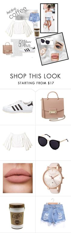 """Untitled #32"" by eldina12 ❤ liked on Polyvore featuring adidas, Furla, Hollister Co. and Ted Baker"