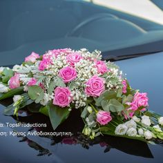 Fresh Flowers Only. Wedding Cars, Fresh Flowers, Elegant Wedding, Floral Wreath, Wreaths, Decor, Dekoration, Flower Crown, Decoration