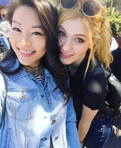 Designer Clothes, Shoes & Bags for Women Katherine Mcnamara, Dylan O'brien, Amy Johnson, Arden Cho, Teen Wolf Cast, Female Fighter, Clary Fray, Jennie, Videos