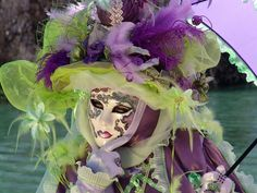 Carnaval_Venise_Vert/Violet