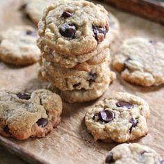 Coconut and dark chocolate chip cookies. These are just plain out HEAVEN and lets not forget HEALTHIER as well.