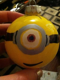 Hand Painted Glass Ornament set of four by DreamitLifeart on Etsy, $45.00