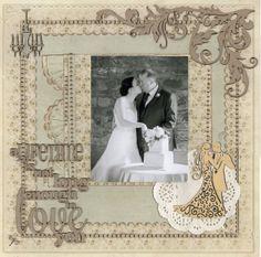 Layout: Wedding Album Page