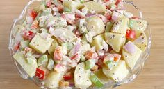 The Garden Grazer: Healthier Potato Salad Made with Greek yogurt and mustard. Healthy Cooking, Healthy Eating, Cooking Recipes, Healthy Recipes, Cooking Tips, Clean Eating, Classic Potato Salad, Vegan Potato Salads, Appetisers