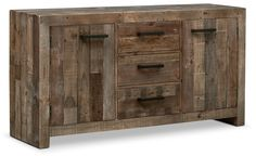 Add extra storage to your dining room with one of our quality buffet or sideboards. Shop Value City Furniture for affordable quality furniture. Value City Furniture, Quality Furniture, Dining Room Furniture, Furniture Making, Furniture Design, Office Furniture, Furniture Ideas, Sideboard Cabinet, Credenza