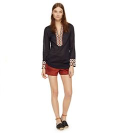 Tory Burch Tunic With Taping