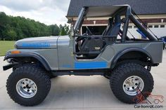 Classic jeeps sale car tuning car pictures jeep_coches r Jeep Wrangler Grill, Blue Jeep Wrangler, Cj Jeep, Jeep Mods, Jeep Truck, Auto Jeep, Jeep Willys, Suzuki Bikes, Jeep Trails