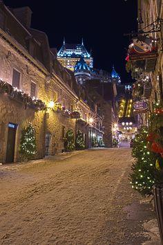 Christmas. -  Quebec City, Canada