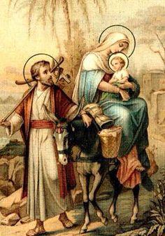 St Joseph, Mary, and Jesus. Catholic Prayers, Catholic Art, Catholic Saints, Religious Art, Roman Catholic, Wal Art, Vintage Holy Cards, Blessed Mother Mary, Queen Mother