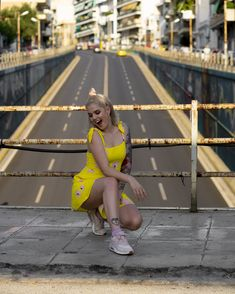 #imikriollandeza #ootd #style #styling #summeroutfit #springoutfit #outfit #2019fashion #fashion2019 #streetstyle #neon #neongreen #neondress #yellowfashion #yellowoutfit #yellowdress #neotraditionaltattoo #tattoo #imikriollandezatattoo #pinktattoo #neotrad #dutchgirl #dutchgirltattoo #luvnroll Neon Dresses, Neo Traditional Tattoo, Yellow Fashion, Neon Green, Yellow Dress, Youtubers, Summer Outfits, Sporty, Ootd