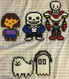 Undertale Perler bead art I found online, no credit is available. :(