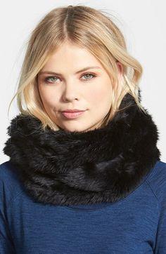 Women's Phase 3 Faux Fur Snood