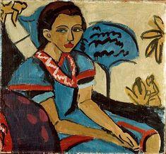 Ernst Ludwig Kirchner: Fränzi, 1910-1911