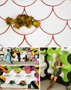 wall tile interactive designs