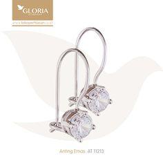 Anting Emas Putih Desy Sercon Model Solitaire. #goldearrings #goldstuff #gold #goldjewelry #jewelry #earrings #perhiasanemas #antingemas #giwangemas #tokoperhiasan #tokoemas