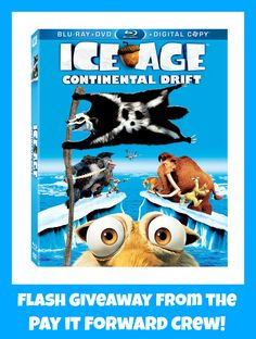 Ice Age Continental Drift on Blu-ray ends 12/9