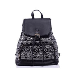 46.42$  Buy now - http://visqy.justgood.pw/vig/item.php?t=4bioo02156 - designer canvas pu women ethnic backpacks patchwork paisley shoulder bags rucksa