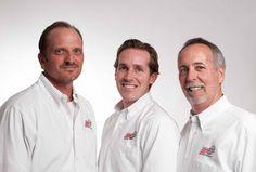 "Jason Johnson, Lewisville Office Owner - Dustin Adams, Denton Office 4th Generation Manager - Virgil ""Spunky""Adams - Denton Office 3rd Generation Owner"