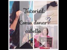 Como donar cabello | Tutorial ♥ Adrianita Maza - YouTube