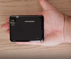 The Magnasonic LED Pocket Pico Video Projector measures in at only 0.5 inches x 3.9 inches x 3 inches, making it as little as any versatile projector you will discover. Best Portable Projector, Led, Pocket, Bag