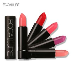 FOCALLURE Lipstick Moisturizer Smooth Lip Stick Long Lasting Charming Lip Lipstick Cosmetic Beauty Makeup