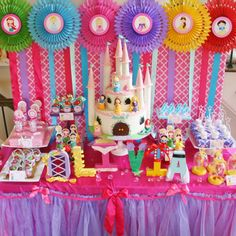 Disney Princess Birthday Party Inspiration LOVE Everything About This