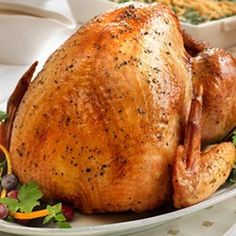 Easy Herb Roasted Turkey Rub...as per reviews, don't baste; put most of rub under skin; for 10lb bird, cook 1:45 with foil cover and :45 without cover
