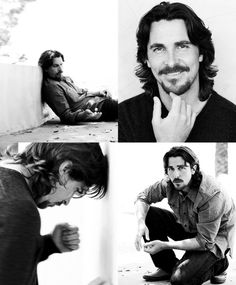 Christian Bale by Nigel Parry