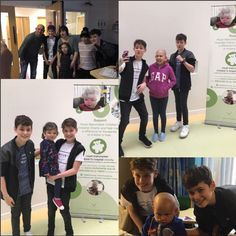 The sweetest boys ever they donated to Ward 84 which is Manchester Royal Hospital and they visited love them ❤